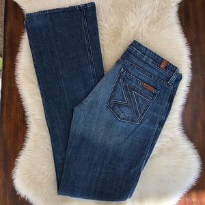 7 for all man kind Flynt flare jeans